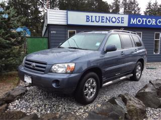 Used 2005 Toyota Highlander LIMITED  for sale in Parksville, BC