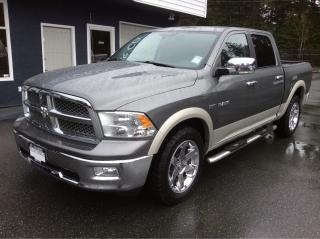 Used 2010 Dodge Ram 1500 Laramie CREW CAB for sale in Parksville, BC