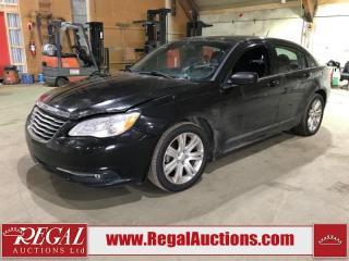 Used 2013 Chrysler 200 Touring 4D Sedan for sale in Calgary, AB