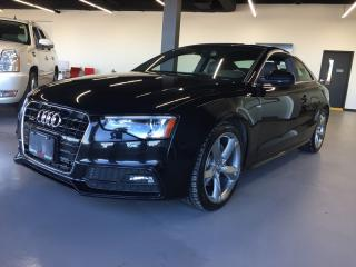 Used 2013 Audi A5 2.0T S-LINE * AWD * LEATHER * NAV * SUNROOF for sale in London, ON