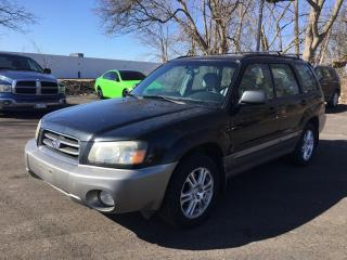 Used 2004 Subaru FORESTER 2.5XS * AWD for sale in London, ON