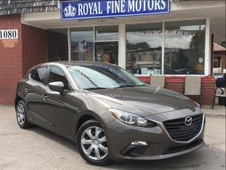Used 2014 Mazda MAZDA3 PushStart,6SpeedManuel,Aircon,Bluetooth,Warranty for sale in York, ON