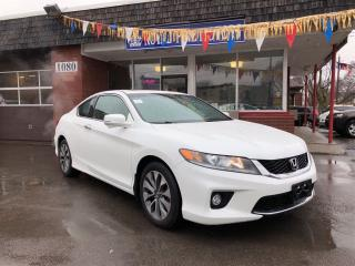 Used 2013 Honda Accord Coupe EX-LNavi,LaneChangeAssist,LeathrPushStart,Only50KM for sale in York, ON