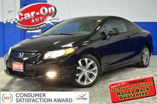 Used 2012 Honda Civic Si Coupe SUNROOF NAVIGATION ALLOYS LOADED for sale in Ottawa, ON
