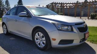 Used 2012 Chevrolet Cruze 1LT for sale in West Kelowna, BC