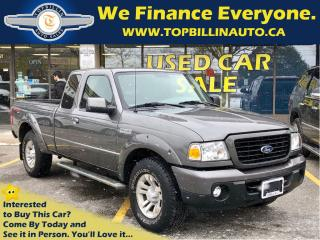 Used 2008 Ford Ranger Sport 4X4 Only 62K km, Extra Clean for sale in Concord, ON
