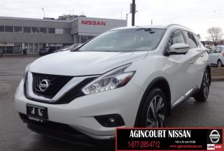 Used 2017 Nissan Murano Platinum NAVI|LEATHER|BLIND SPOT| for sale in Scarborough, ON