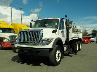 Used 2011 International 7500 Tandem-Axel Diesel Dump Truck & Underbody Plow Automatic with Air brakes for sale in Burnaby, BC
