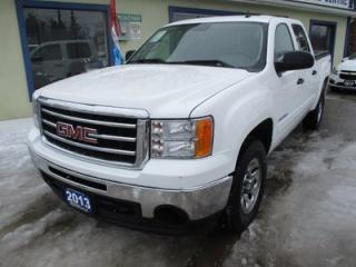 Used 2013 GMC Sierra 1500 POWER EQUIPPED SLE MODEL 6 PASSENGER 5.3L - V8.. 4X4.. CREW.. SHORTY.. CD/AUX INPUT.. TRAILER BRAKE.. KEYLESS ENTRY.. for sale in Bradford, ON