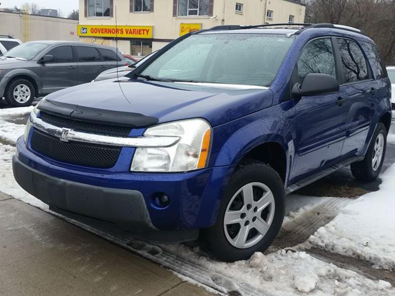 Photo of Blue 2005 Chevrolet Equinox