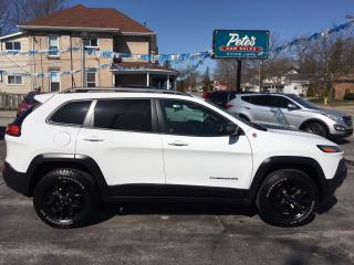 Used 2017 Jeep Cherokee Trailhawk Leather Plus 4x4 for sale in Dunnville, ON