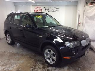 Used 2007 BMW X3 3.0Si for sale in L'ancienne-lorette, QC