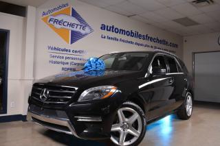 Used 2014 Mercedes-Benz ML 350 Diesel BlueTEC 4MATIC 3.0L Premium Pkg for sale in Laval, QC