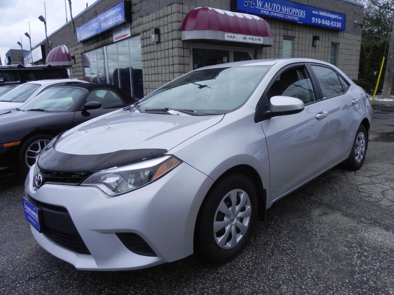 Photo of Silver 2014 Toyota Corolla