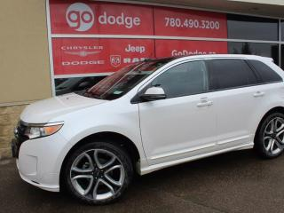 Used 2013 Ford Edge Sport AWD / GPS Navigation / Sunroof / Back Up Camera for sale in Edmonton, AB