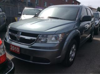Used 2010 Dodge Journey SE/4 Cyl./7 SEATS/CLEAN CARPROOF/DVD/MUST SEE!! for sale in Scarborough, ON