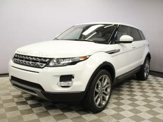 Used 2015 Land Rover Evoque Pure Premium - 4yr/80000kms manufacturer warranty included until November 18, 2018! Local One Owner Trade In | No Accidents | Navigation | Surround Camera System | Parking Sensors | Adaptive Xenon Headlamps with Auto High Beam Assist | Heated Windshield w for sale in Edmonton, AB
