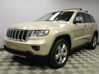 Used 2012 Jeep Grand Cherokee Limited 5.7L V8 HEMI - Local One Owner Trade In | Very Well Looked After | Low KMs | Navigation | Back Up Camera | Parking Sensors | Trailer Hitch | Power Liftgate | Panoramic Sunroof | 20 Inch Wheels | Factory Remote Starter | Dual Zone Climate Control w for sale in Edmonton, AB