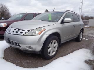 Used 2005 Nissan Murano SE for sale in Oshawa, ON