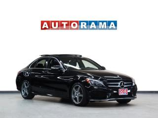 Used 2015 Mercedes-Benz C 300 NAVIGATION BACKUP CAMERA LEATHER PAN SUNROOF 4WD for sale in North York, ON
