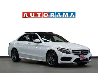 Used 2015 Mercedes-Benz C 300 NAVIGATION LEATHER PAN SUNROOF 4WD BLUETOOTH for sale in North York, ON