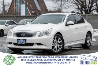 Used 2009 Infiniti G37X  AWD Sunroof Leather EXTRA WINTER TIRES/RIMS for sale in Scarborough, ON