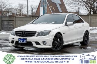Used 2010 Mercedes-Benz C63 AMG V8 4Door NAVI Auto for sale in Caledon, ON