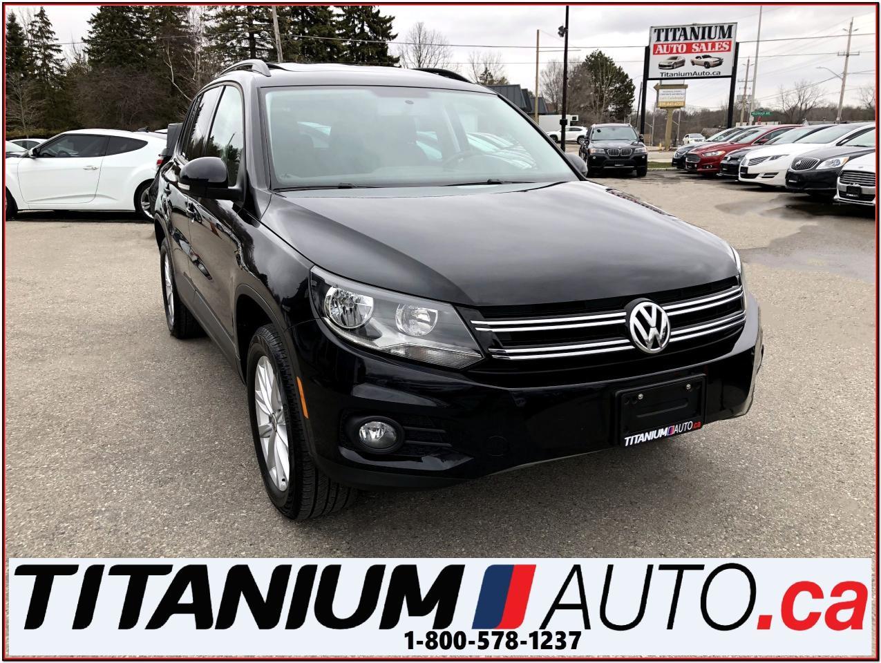 2015 Volkswagen Tiguan Comfortline+4Motion+Tech+GPS+Camera+Pano+Leather++