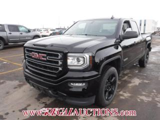 Used 2017 GMC SIERRA 1500 BASE DOUBLE CAB SWB 4WD 4.3L for sale in Calgary, AB