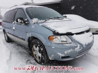 Used 2005 Dodge GRAND CARAVAN BASE WAGON for sale in Calgary, AB