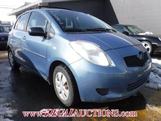 Used 2008 Toyota YARIS  4D HATCHBACK for sale in Calgary, AB
