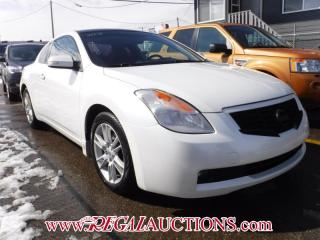 Used 2008 Nissan ALTIMA  2D COUPE for sale in Calgary, AB