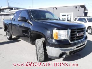 Used 2009 GMC SIERRA 2500 SLT 4D EXT CAB 4WD for sale in Calgary, AB