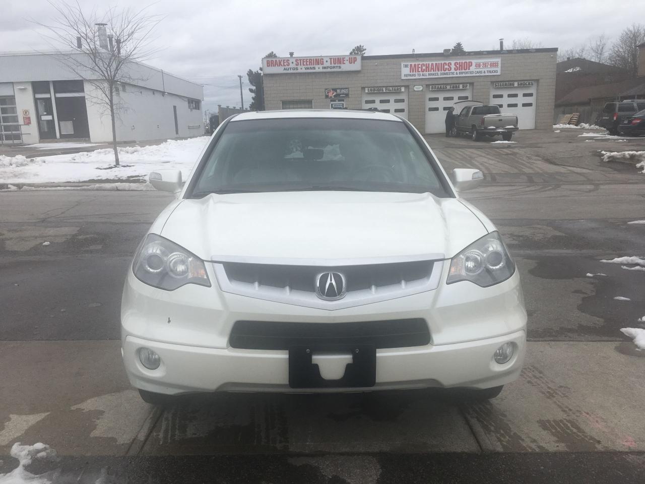 Photo of White 2008 Acura RDX
