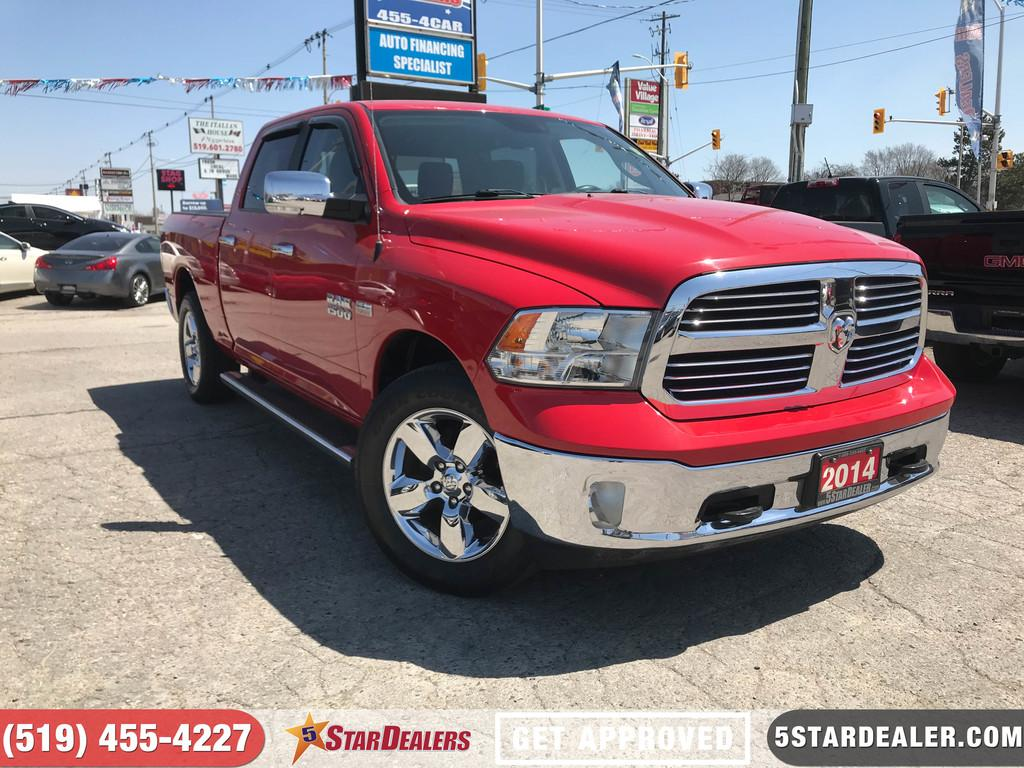 Used 2014 Dodge Ram 1500 Slt Hemi 4x4 Bluetooth For Sale In