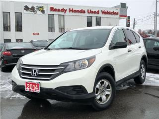 Used 2014 Honda CR-V LX - Back up camera - Heated Seats for sale in Mississauga, ON