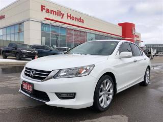 Used 2013 Honda Accord Touring (CVT) for sale in Brampton, ON