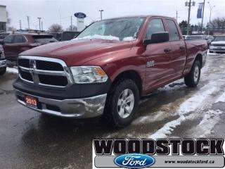 Used 2013 Dodge Ram 1500 ST - Bluetooth -  Heated Mirrors for sale in Woodstock, ON