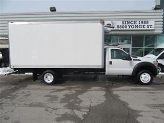 Used 2012 Ford F-450 Gas 16ft Reefer Box for sale in Richmond Hill, ON