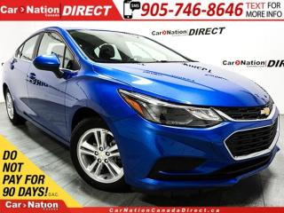 Used 2017 Chevrolet Cruze LT| SUNROOF| BACK UP CAMERA| TOUCH SCREEN| for sale in Burlington, ON