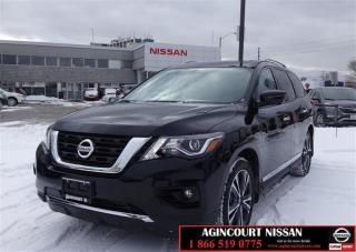 Used 2018 Nissan Pathfinder Platinum DEMO 4X4|GPS|360 CAM| for sale in Scarborough, ON