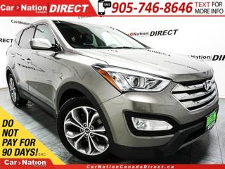 Used 2013 Hyundai Santa Fe Sport 2.0T Limited| AWD| LEATHER| NAVI| PANO ROOF| for sale in Burlington, ON