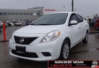 Used 2012 Nissan Versa 1.6 SV |BLUETOOTH| CRUISE CONTROL|POWER LOCKS| POW for sale in Scarborough, ON