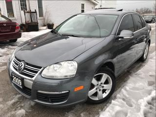 Used 2009 Volkswagen Jetta 2.5L Highline|One Owner|Leather|Sunroof| for sale in Burlington, ON
