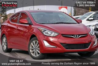 Used 2015 Hyundai Elantra GL at Clean Carproof|Heated Seats|Bluetooth for sale in Pickering, ON