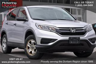 Used 2015 Honda CR-V LX 2WD Clean Carproof|Bluetooth|Rearview Camera for sale in Pickering, ON