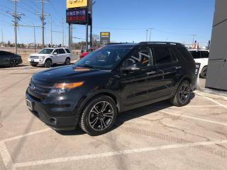 Used 2014 Ford Explorer Sport EcoBoost Nav Heated/Cool for sale in Winnipeg, MB