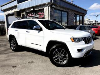 Used 2017 Jeep Grand Cherokee 4 RM, 4 portes, Limited for sale in Longueuil, QC