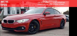 Used 2014 BMW 4 Series 428i COUPE | VIDEO.CALL.US |NAVI|REARVIEW|HEATEDSEATS|PARKINGAIDS|SUNROOF|HEATED STEERING| for sale in Mississauga, ON
