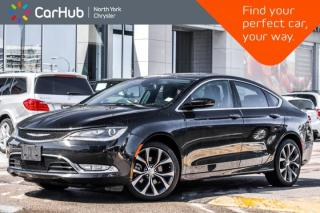 Used 2015 Chrysler 200 C for sale in Thornhill, ON